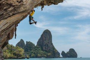 Climbing at Railay Bay