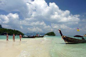 Tup Island Sand Bar