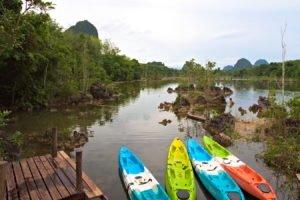 Nong Thale kayak